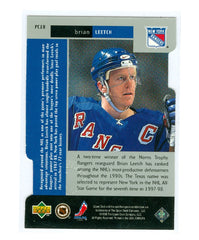 1997-98 Black Diamond Premium Cut Double Diamond #PC10 Brian Leetch | Eastridge Sports Cards