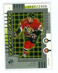 1999-00 SP Authentic #111 Mike Fisher #/2000 (Rookie) | Eastridge Sports Cards