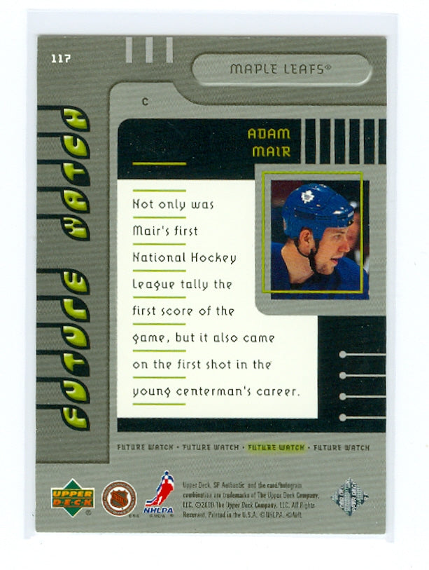 1999-00 SP Authentic #117 Adam Mair #/2000 (Rookie) | Eastridge Sports Cards