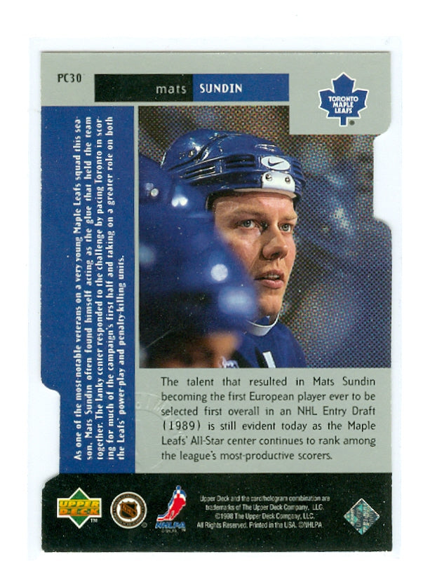 1997-98 Black Diamond Premium Cut Double Diamond #PC30 Mats Sundin | Eastridge Sports Cards