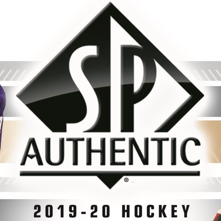 2019-20 Upper Deck SP Authentic Hockey Hobby Inner Case (8 boxes) | Eastridge Sports Cards