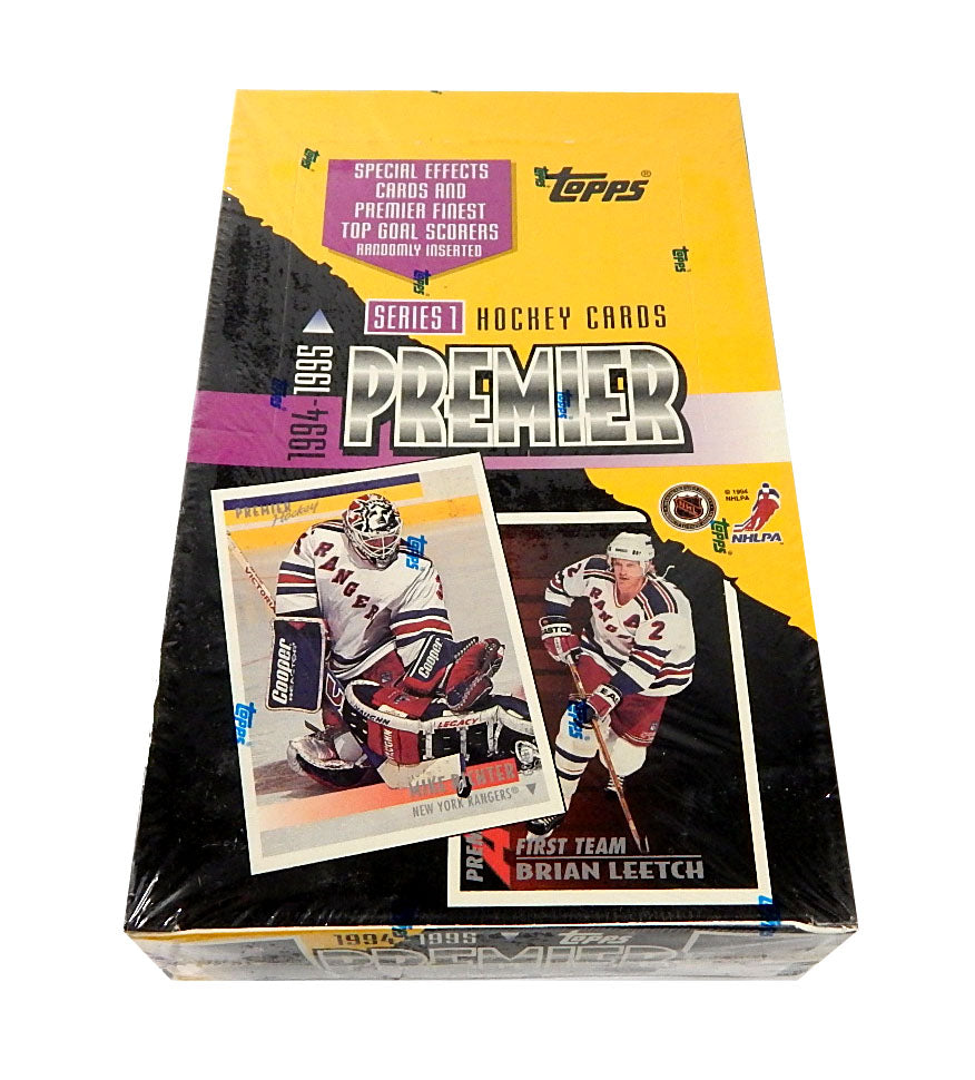 1994-95 Topps Premier Hockey Series 1 Hobby Box | Eastridge Sports Cards
