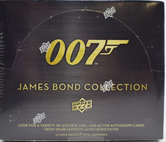 2019 Upper Deck 007 James Bond Collection Trading Cards Hobby Box | Eastridge Sports Cards