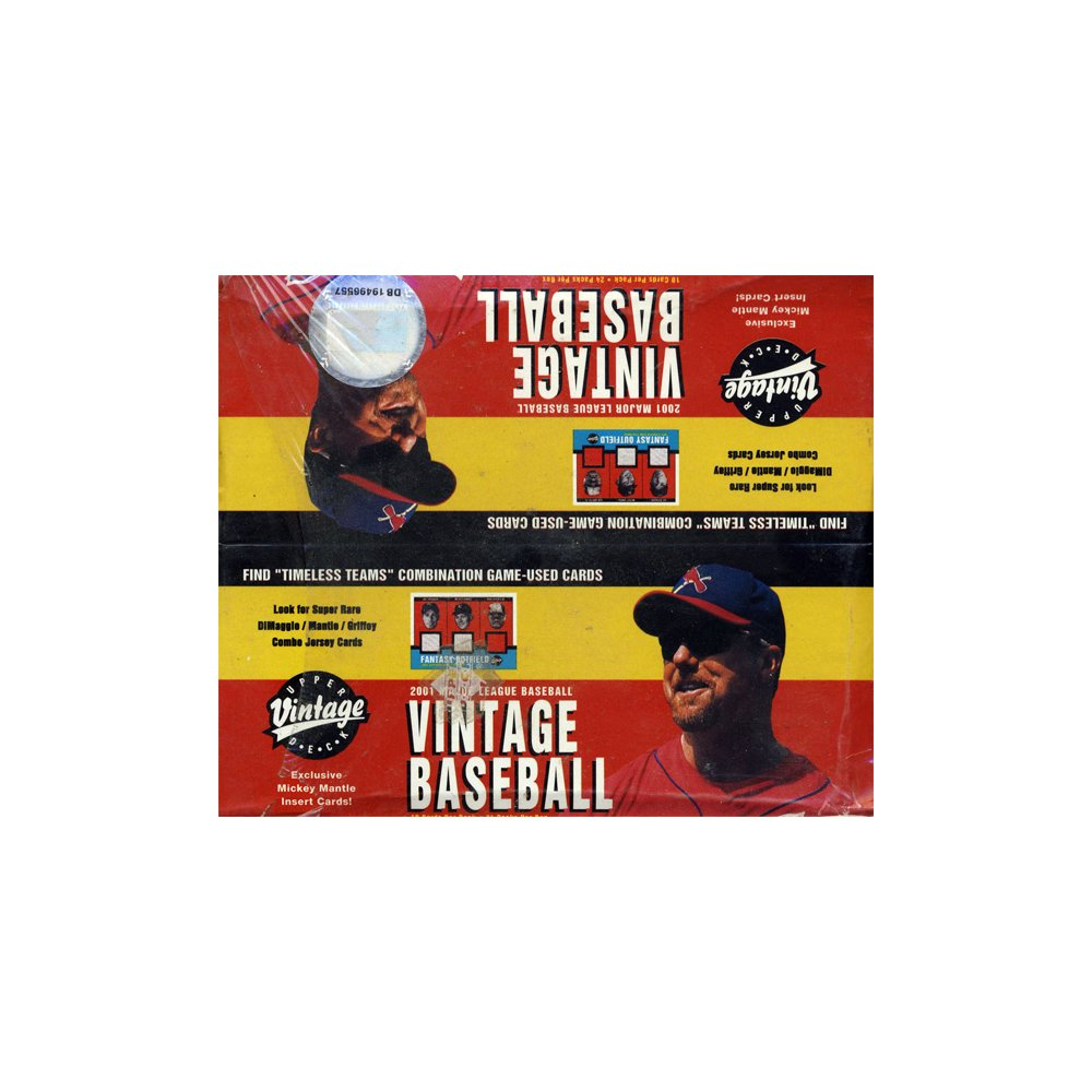 2001 Upper Deck Vintage Baseball | Eastridge Sports Cards