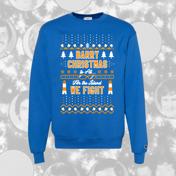 Barry Christmas Holiday Sweater-yesmenoutfitters.com