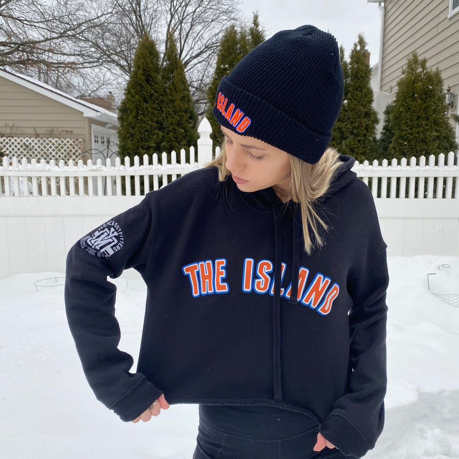 The Island Ladies Cropped Hoodie