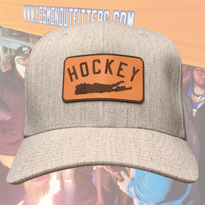 Hockey Island Patch FlexFit-yesmenoutfitters.com