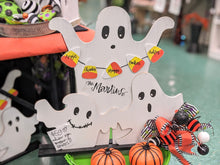 Load image into Gallery viewer, Candy Corn Ghost Display (Comes with PERSONALIZATION!)