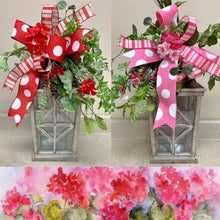 Load image into Gallery viewer, Geranium Swag Kit (Pink and Red)