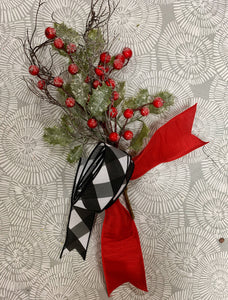Christmas Accent Bow KIT #11