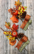 Load image into Gallery viewer, Fall Accent Bow Kit (Set of 2)