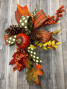 Fall Accent Bow Kit (Set of 2)