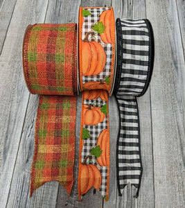 Fall Ribbon Set #6