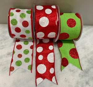 Christmas Ribbon SET D