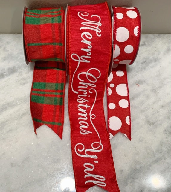 Christmas Ribbon SET F