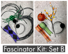 Load image into Gallery viewer, Halloween Fascinator Kit Sets