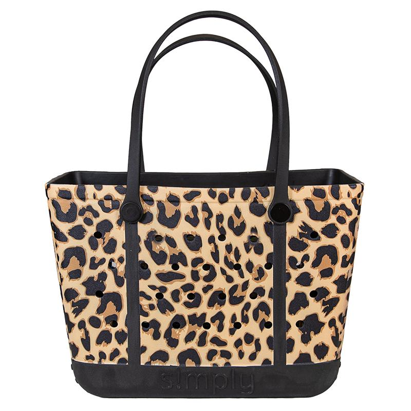 Simply Tote | Leopard- LARGE