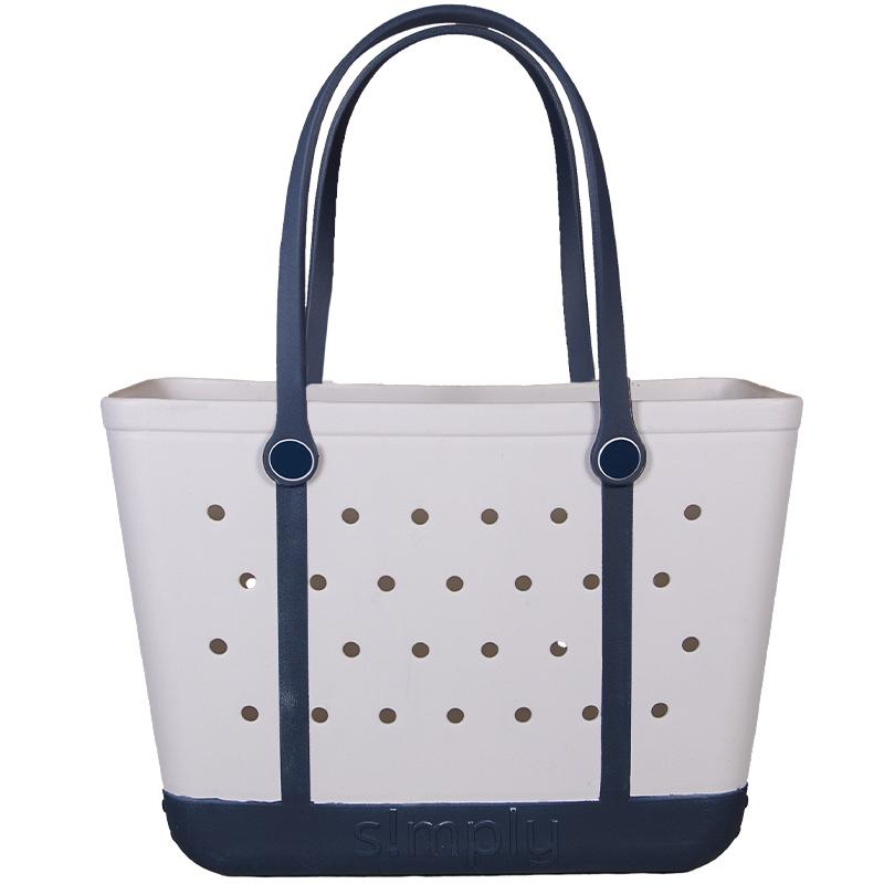Simply Tote | Solid White- LARGE