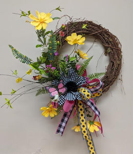 Spring Butterfly Wreath Kit