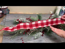 Load and play video in Gallery viewer, Christmas Mantle or Table Arrangement Kit