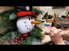 Load and play video in Gallery viewer, Festive Snowman Swag Kit