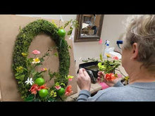 Load and play video in Gallery viewer, Coral & Limes Wreath Kit