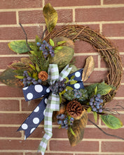 Load image into Gallery viewer, Blueberry Winter Wreath Kit # 6