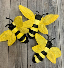 Load image into Gallery viewer, Set of 3 Bees