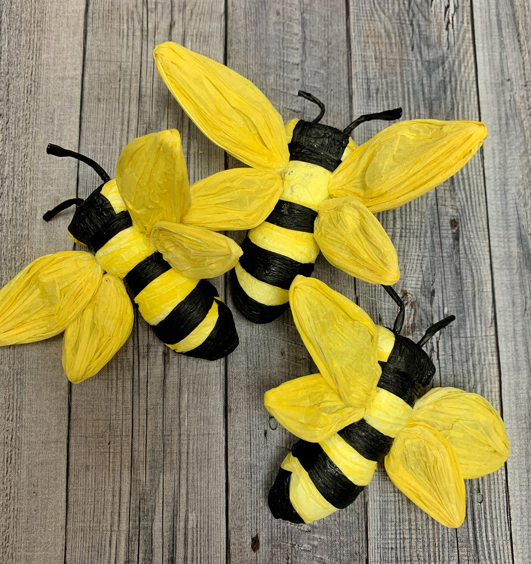 Set of 3 Bees