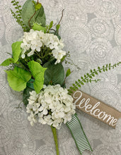 Load image into Gallery viewer, White Hydrangea Swag Kit