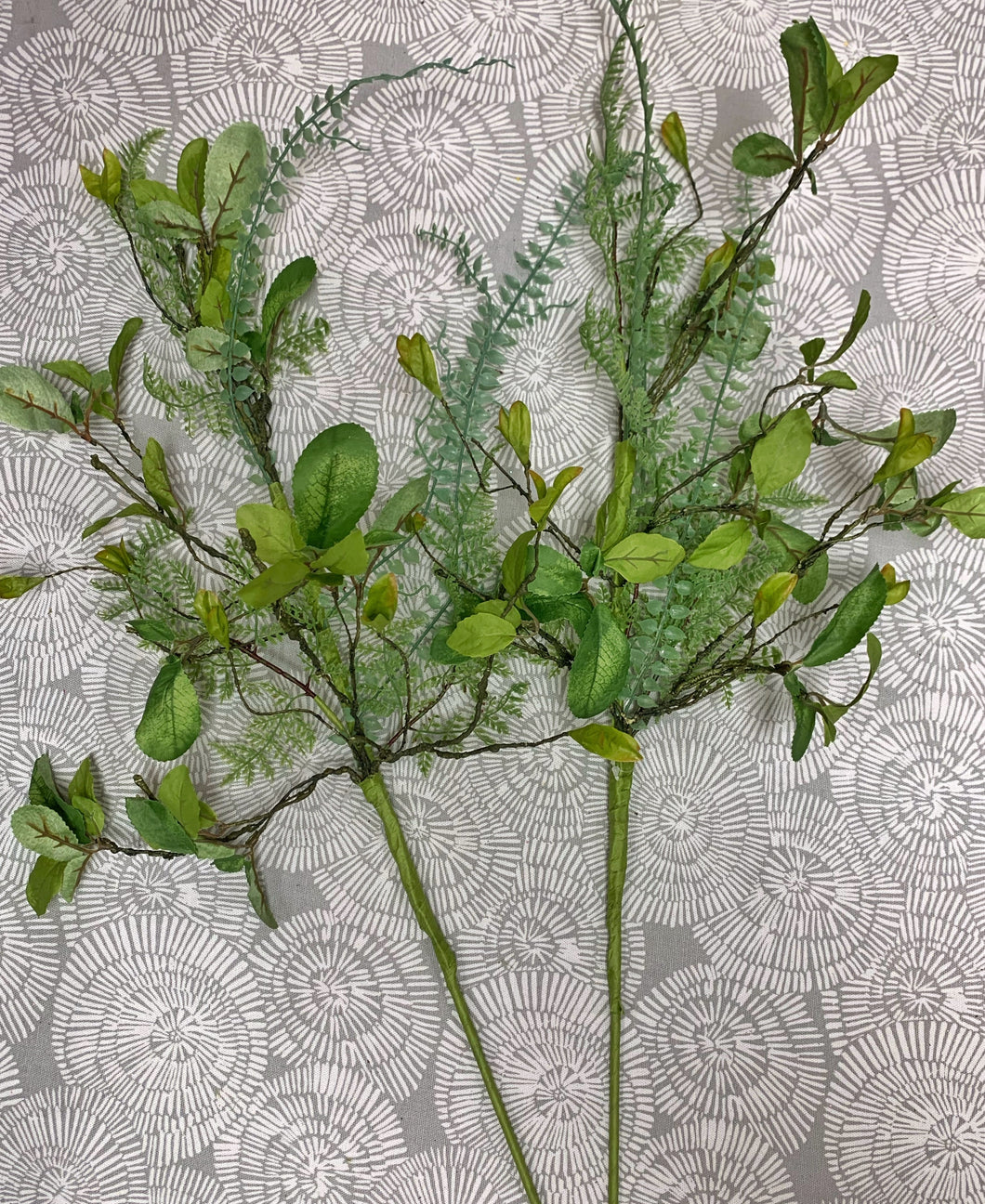 Set of 2 Mixed Twig Fern Stems