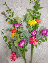 Load image into Gallery viewer, Set of 2 Mixed Wildflower Stems
