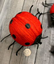 Load image into Gallery viewer, Set of 3 Ladybugs