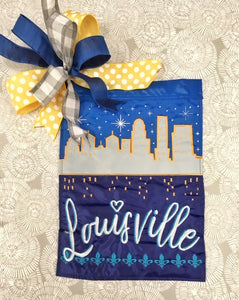 Louisville Flag and Bow