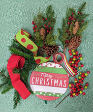 Load image into Gallery viewer, Christmas Ornament Swag Kit