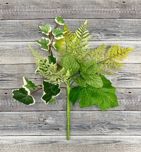 Mixed Fern Pick Set of 4