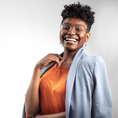 A photo of Ayana Williams (She/Her) Social Media Manager of Inclusive Data