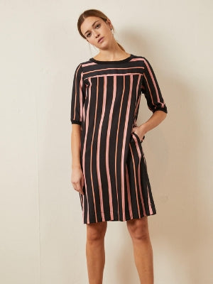 LANIUS Stripes Jurk