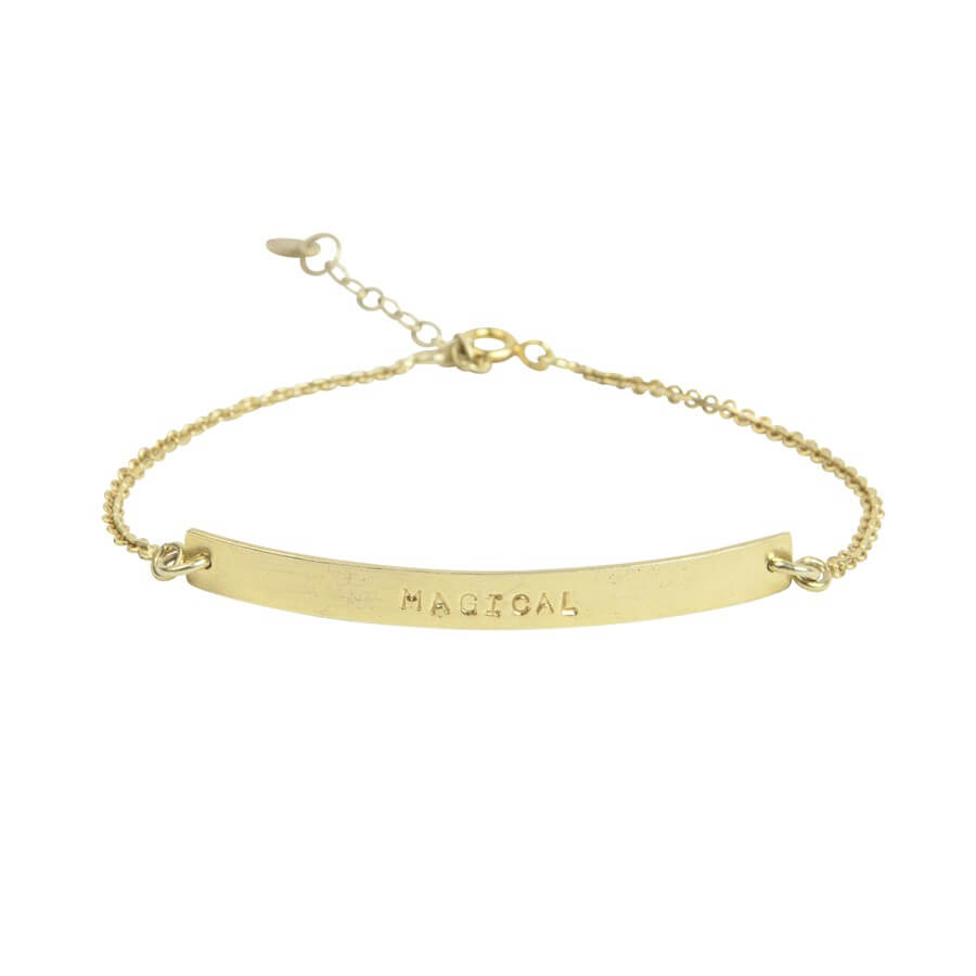 A Beautiful Story - Flow Magical Gold Bracelet - INGAR