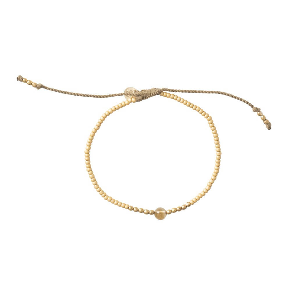 A Beautiful Story - Twinkle Citrine Gold Bracelet - INGAR