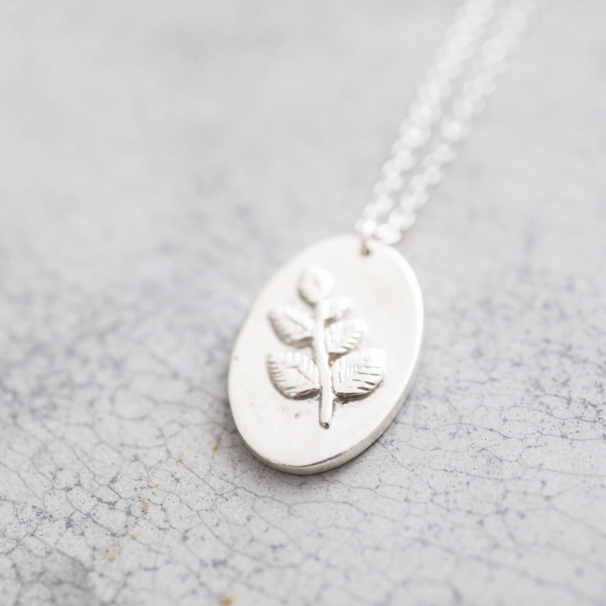 A Beautiful Story - Wonderful Branch Silver Ketting - INGAR