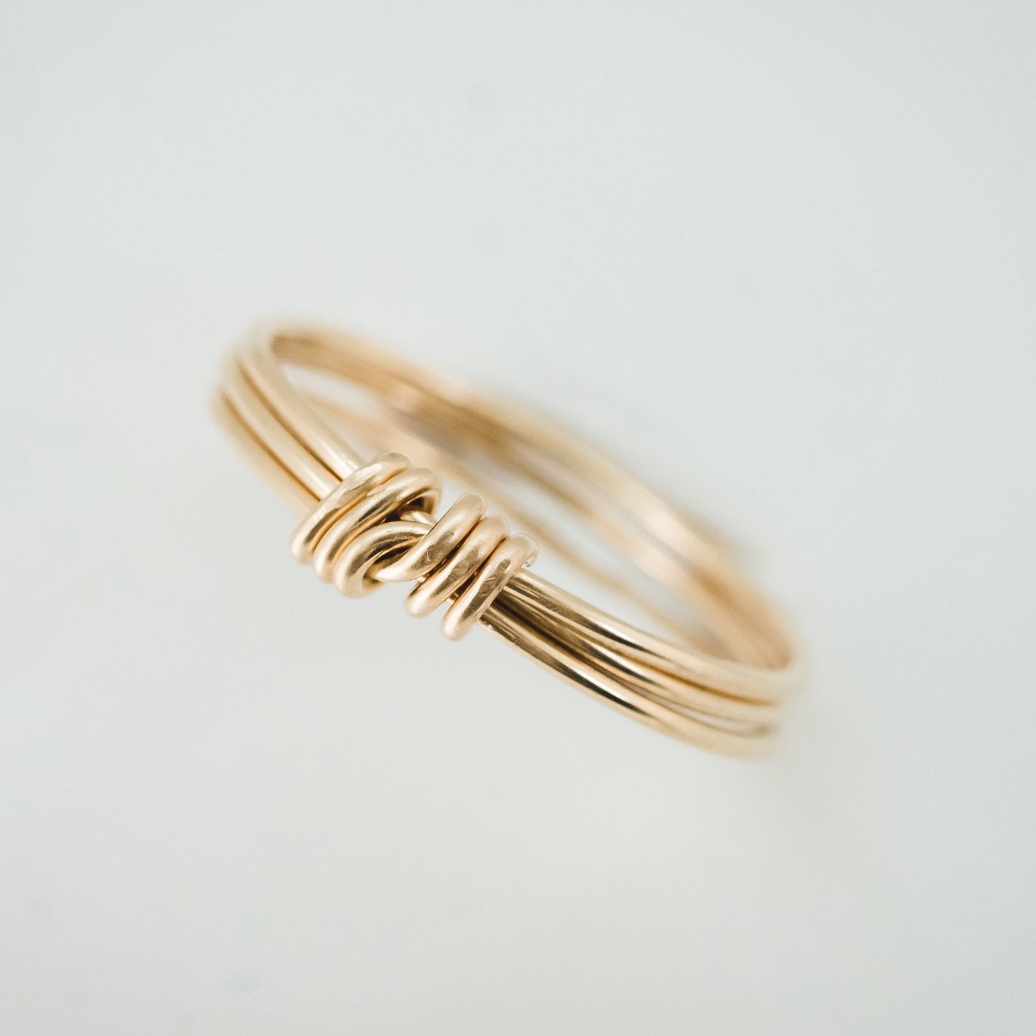 Anna Janelle Jewelry - The Knot Ring - INGAR