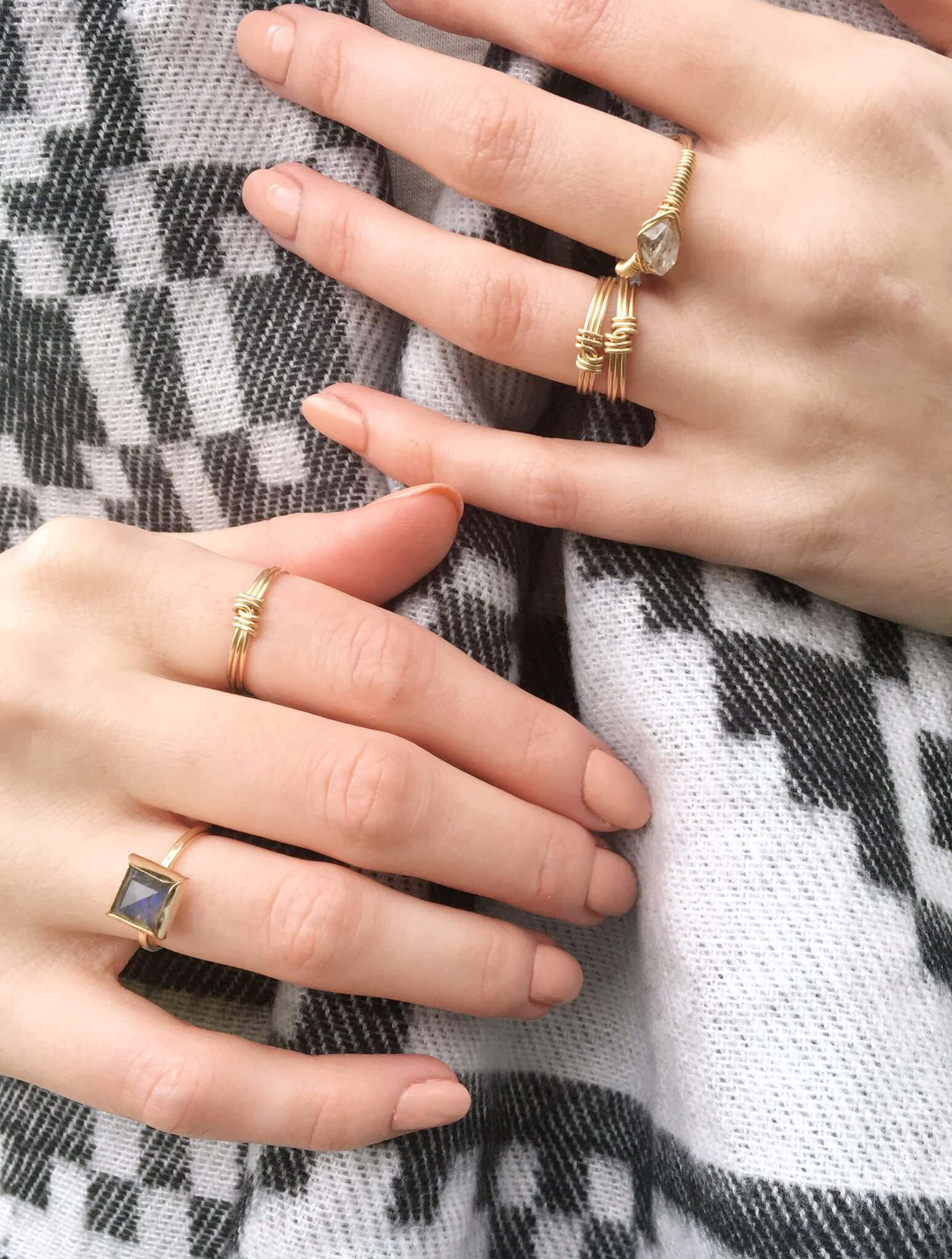 The Knot Ring - INGAR - Duurzame damesmode & accessoires