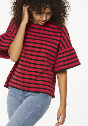 ARMEDANGELS - Neeline Stripes Top - INGAR