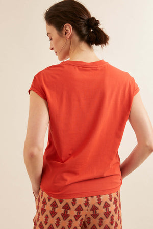 LANIUS - Fine Jersey Stretch Top - INGAR