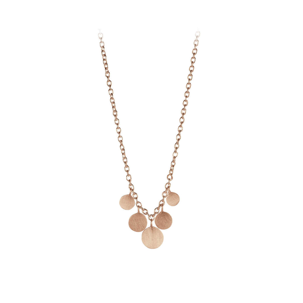 Pernille Corydon Jewellery - Mini Coin Ketting - INGAR