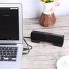 AINGSLIM Portable Mini Stereo Speaker USB Wired 3.5mm Jack Speakers for Notebook Laptop PC Desktop Tablet Music Player with Clip