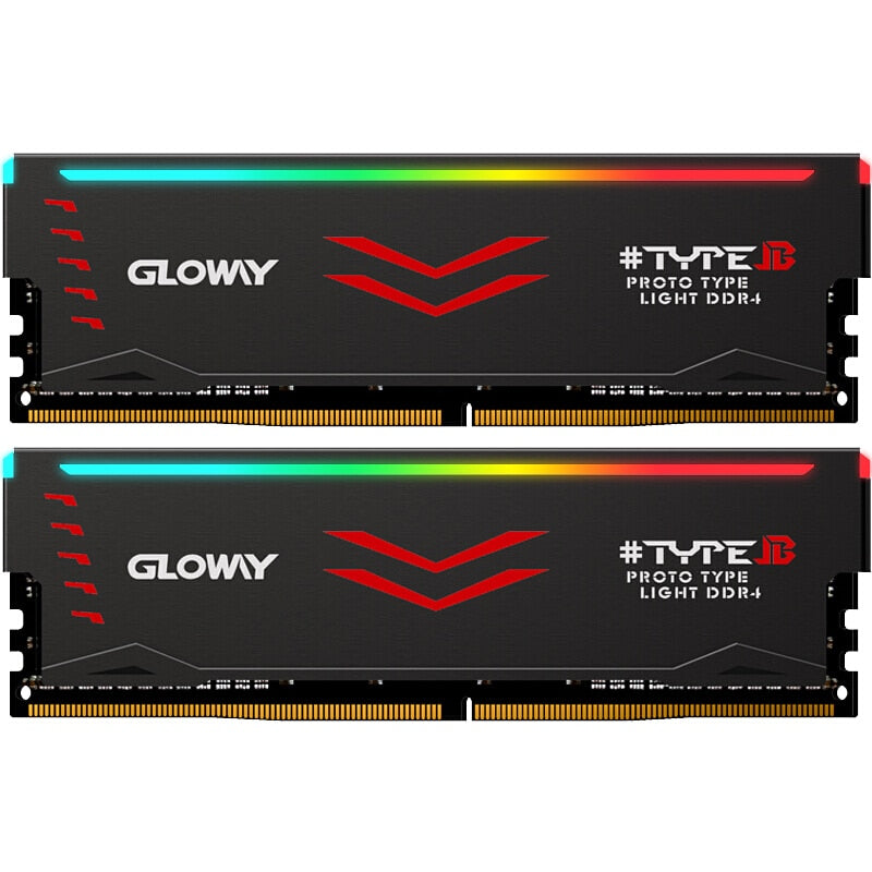 Gloway  Type B series DDR4 8gb*2 16gb 3000mhz  RGB RAM for gaming desktop dimm with high performance memoria ram