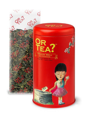 Or Tea Dragon Well grüner Bio Tee Inhalt 90 g