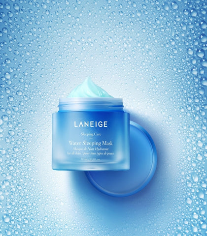 texture of laneige water sleeping mask